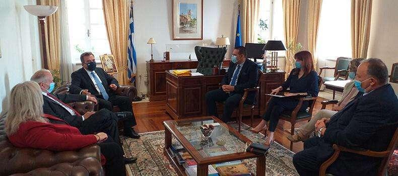 Μνημόνιο Συνεργασίας Υπουργείου Τουρισμού και  Ιονίου Πανεπιστημίου