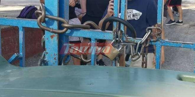 Κατάληψη σε σχολείο της Πάτρας από μαθητές που αρνούνται να φορέσουν μάσκα!