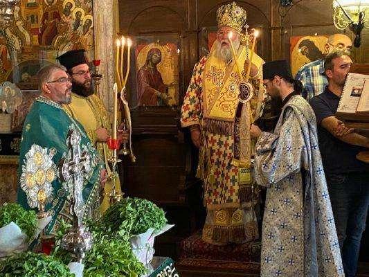 Η εορτή της Υψώσεως του Τιμίου Σταυρού στην Κέρκυρα